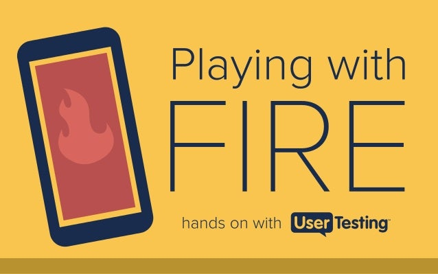 User testing usability study of amazon fire phone UX features