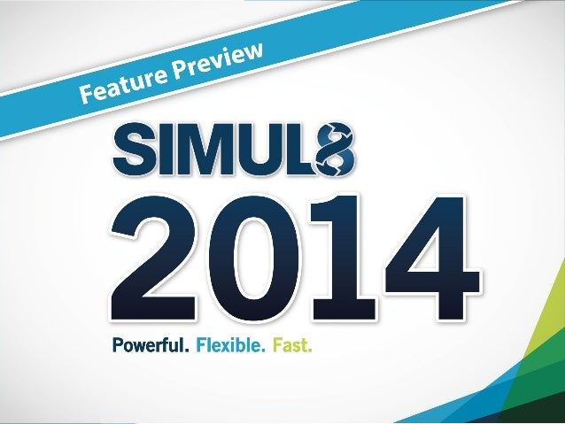 SIMUL8 2014 Feature Preview