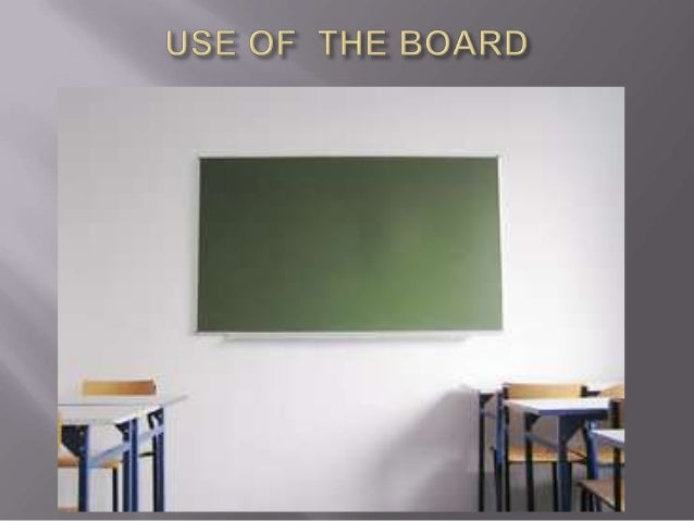 Uses of board