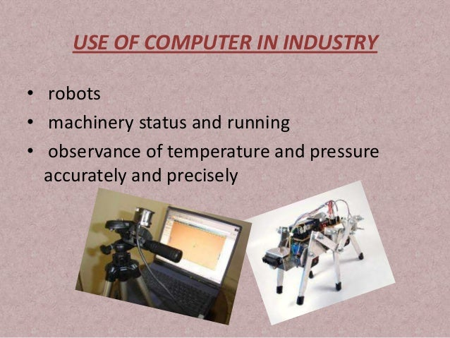 uses of computer in various fields essay Water is one of the most vital natural resources for all life on earth the availability and quality of water always have played an important part in.
