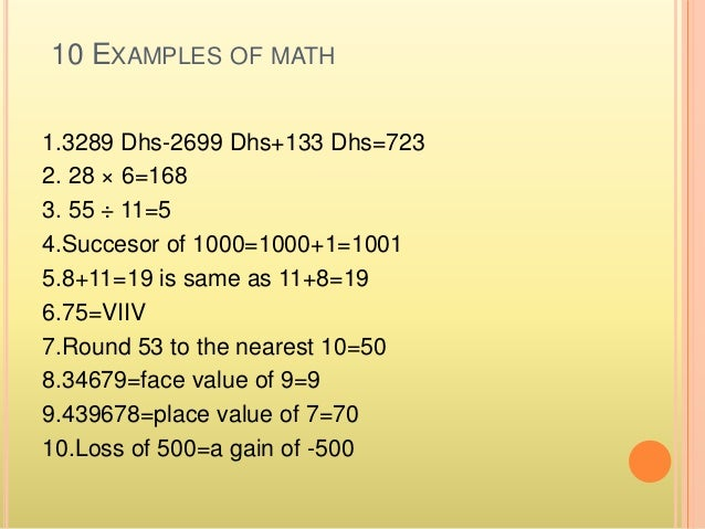 "essay on use of mathematics in our daily life Importance of math in everyday life ""when will i use math"" is a question often posed by students wondering how topics like factorization and algebra will play a."
