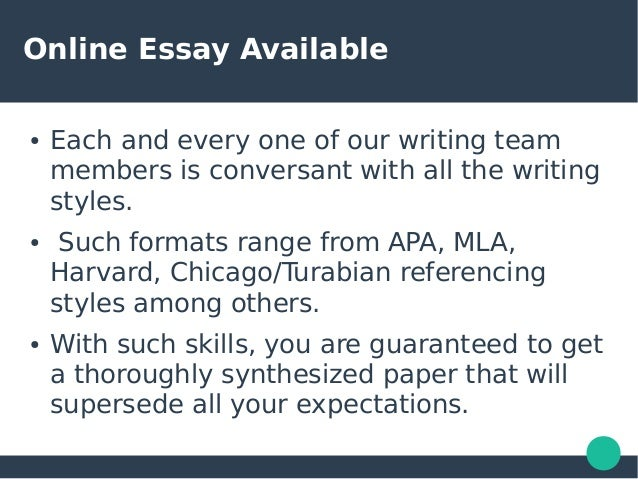 Essay writing services us