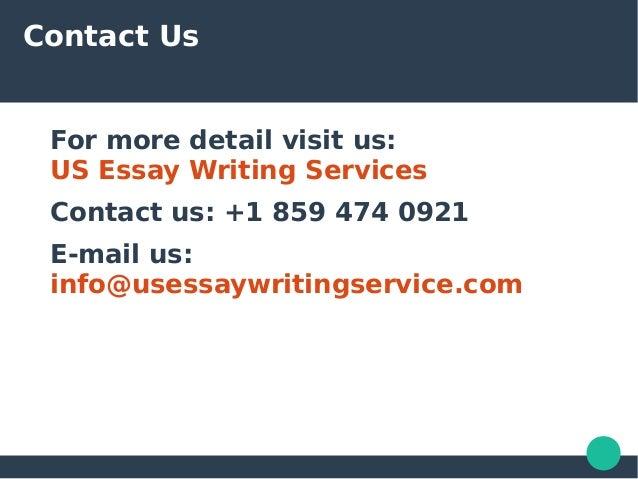 Us essay writers