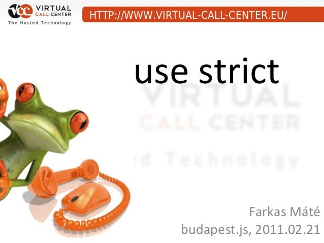 Use strict