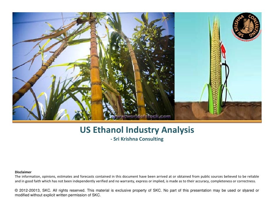 Us Ethanol Industry Analysis