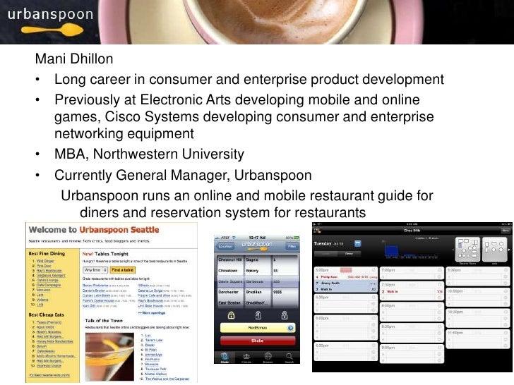 1<br />Mani Dhillon<br /><ul><li>Long career in consumer and enterprise product development