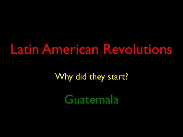 USFP Guatemalan Revolution