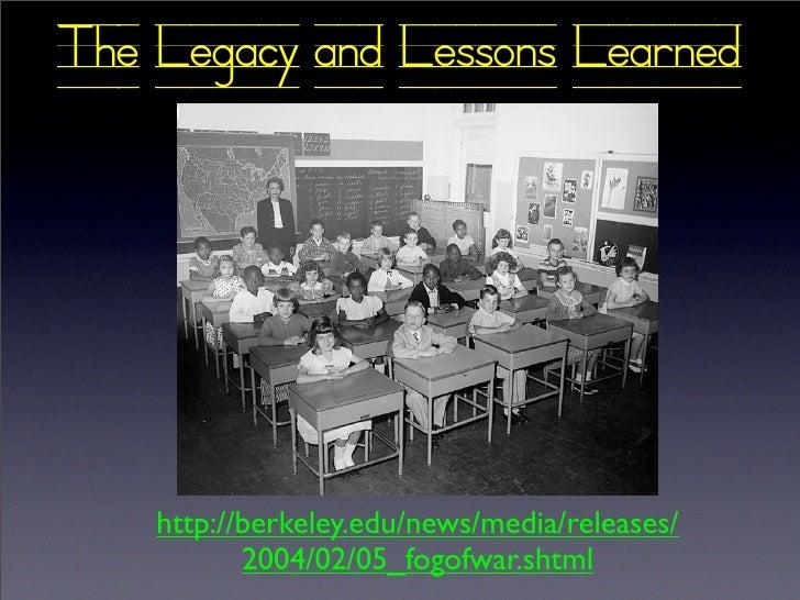 USFP Legacies And Lessons  Vietnam
