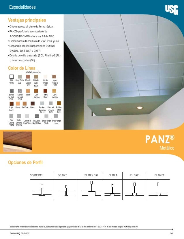usg ceilings systems catalog es mex grplf