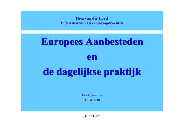 Usg presentatie 12 april 2010