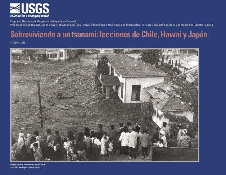 Sobrevivir a un Terremoto y Tsunami