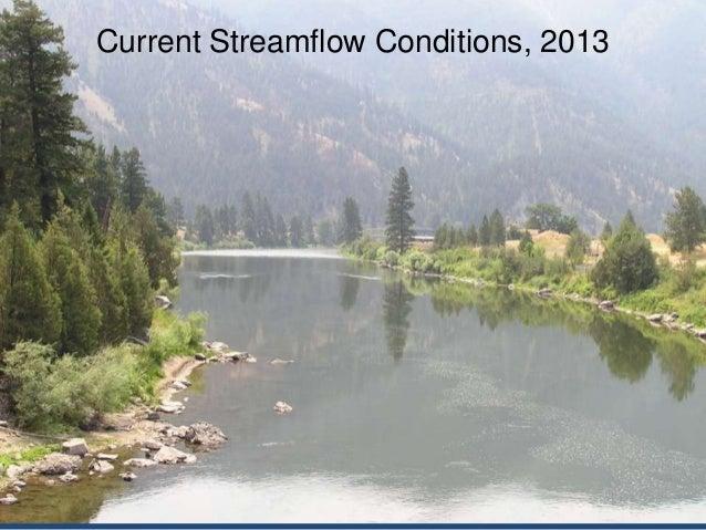 USGS  Spring Clark Fork River Water Outlook 2013