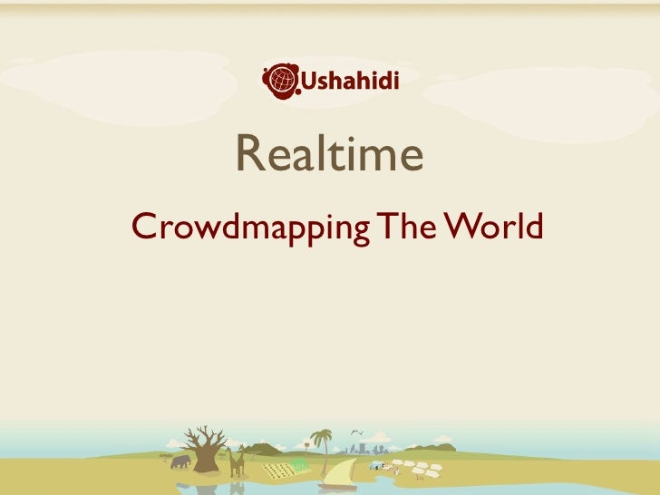 RealtimeCrowdmapping The World