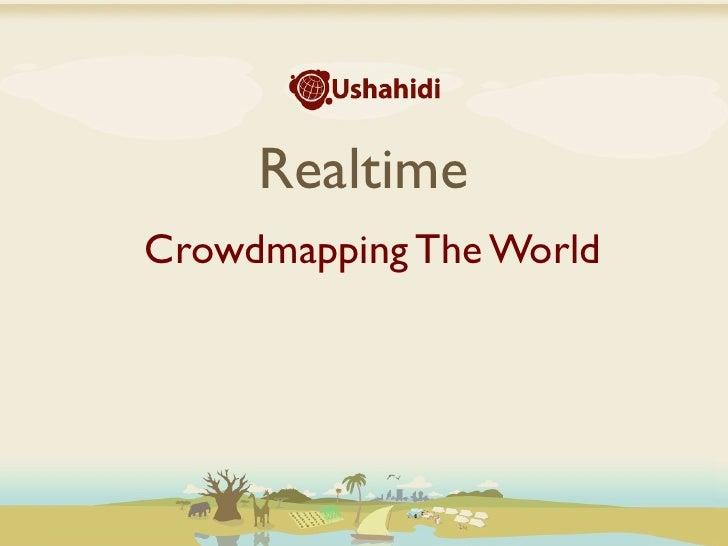 Ushahidi esri juliana