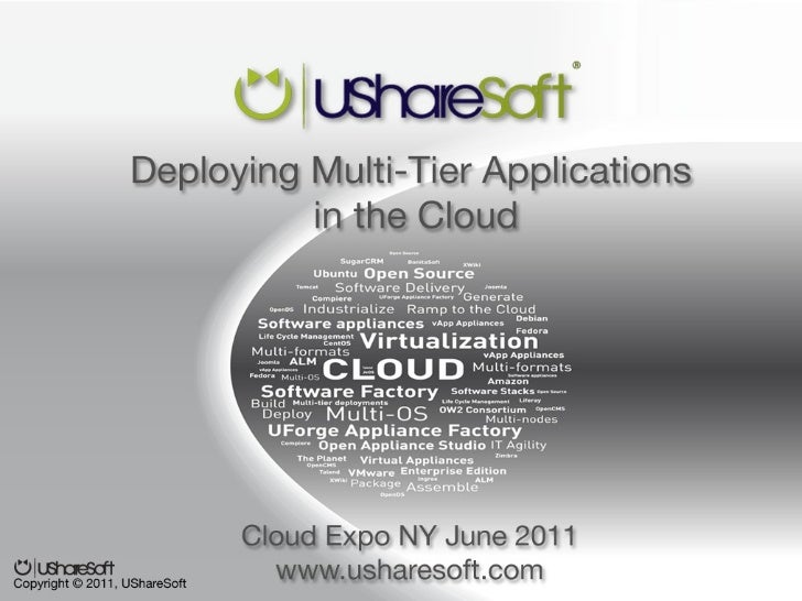 The Appliance Factory Company   Simplifying Software Delivery       UShareSoft – Cloud Expo NY June 2011 - Copyright © 201...
