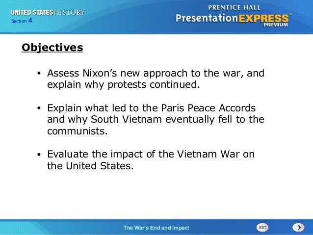 United States History Ch. 20 Section 4 Notes