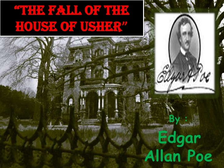 """Thefall of the house of usher""<br />By :<br />Edgar Allan Poe<br />"