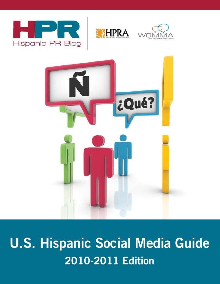 US Hispanic Social Media Guide