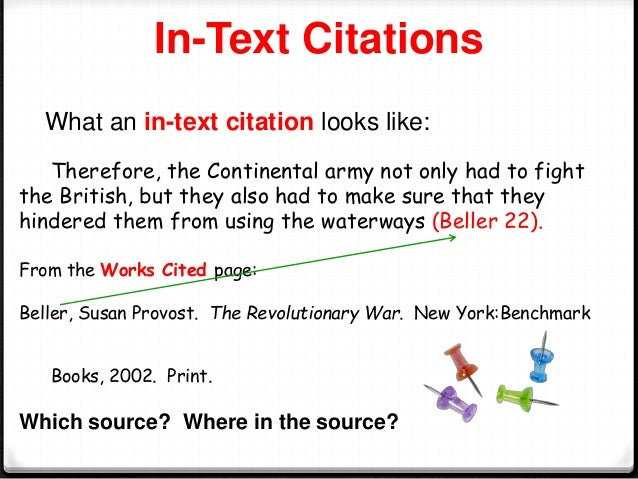 In text citation paraphrase