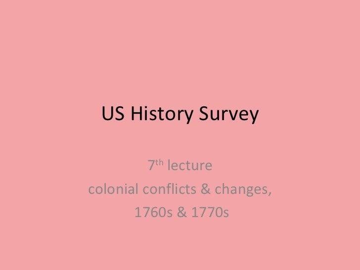 Us history survey # 7