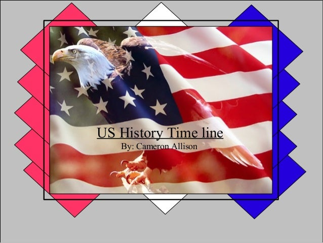 US History Time line   By: Cameron Allison