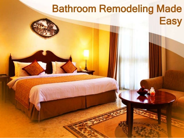 Bathroom Remodeling MadeEasy