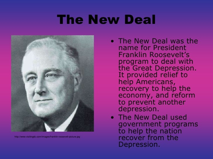 an evaluation of the new deal by franklin d roosevelt Commentary and archival information about franklin delano roosevelt from the new it looks like the new deal about the wedding of franklin d roosevelt and.