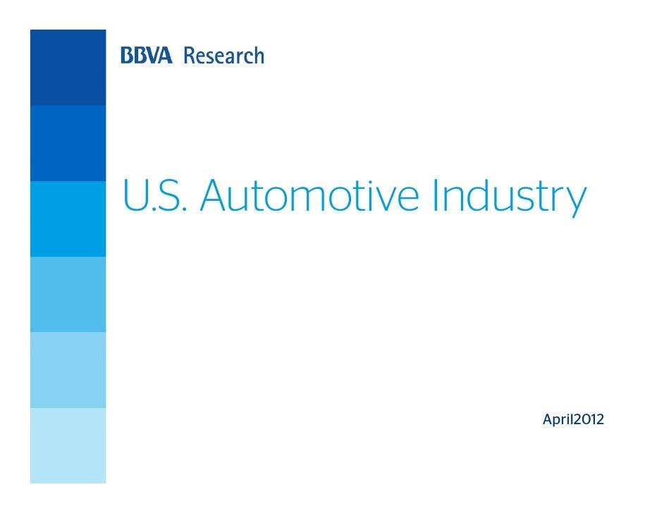 U.S. Automotive Industry                     April2012