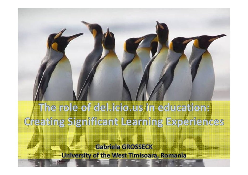 Agenda           • Short introduction          • Why use del.icio.us?          • Some advantages and            disadvanta...