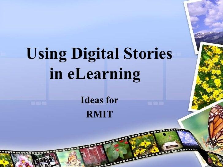 Using Digital Stories In Elearning