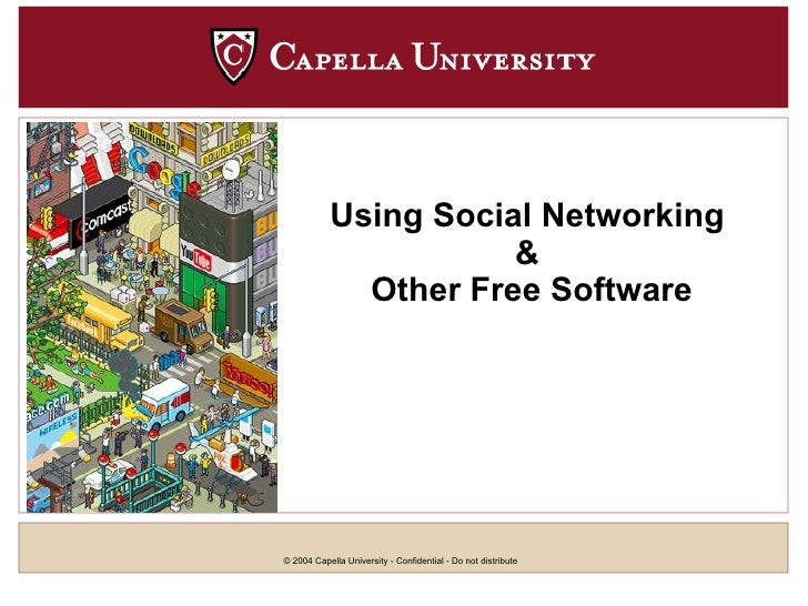 Using Social Networking   &  Other Free Software