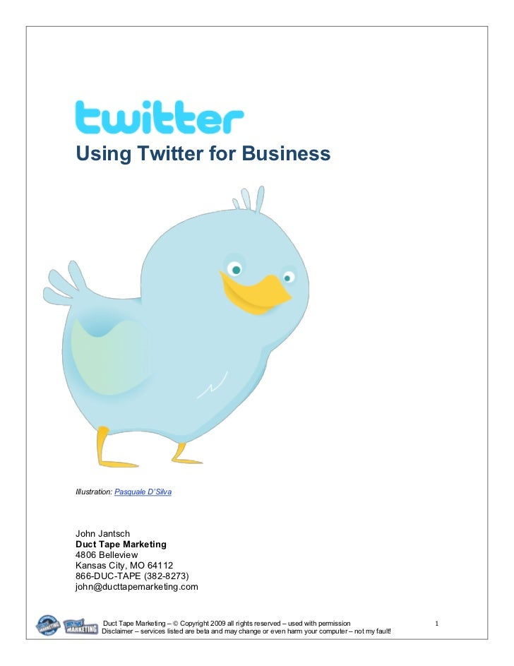 Using twitter-for-business