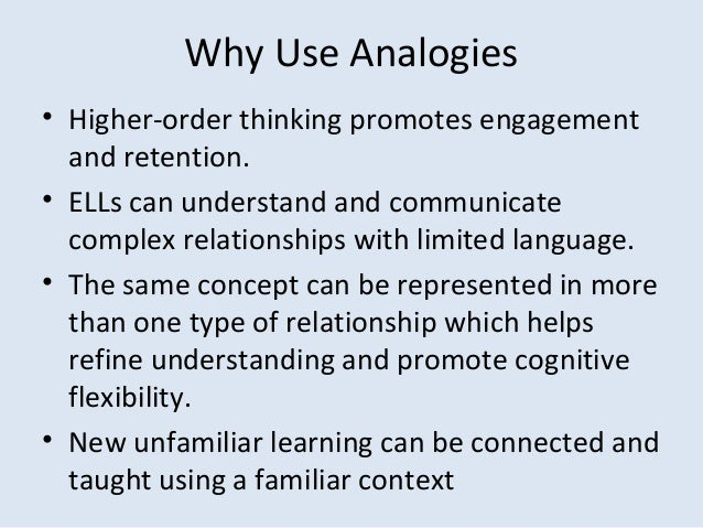 Using analogies should be limited to which of the following styles of writing?