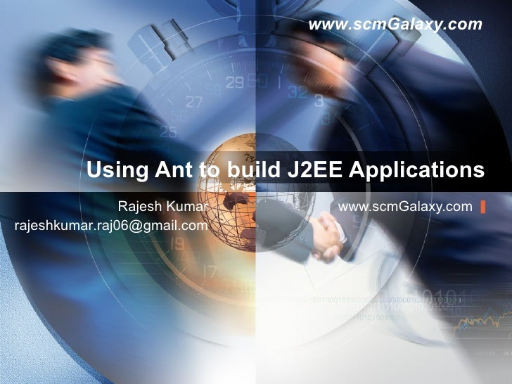 Using Ant To Build J2 Ee Applications
