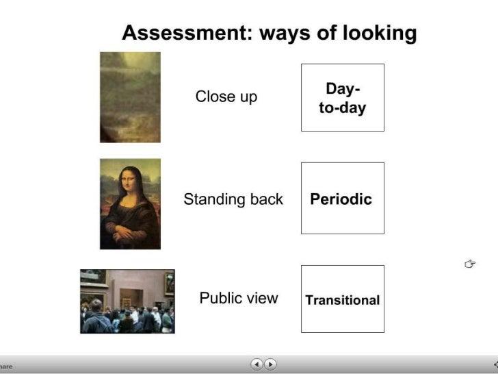Using assessment