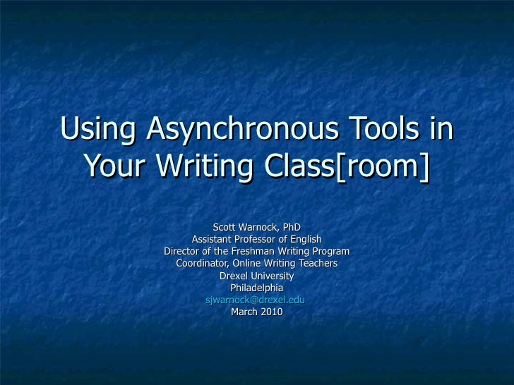 Using Asynchronous Tools Cengage Phoenix 3 10