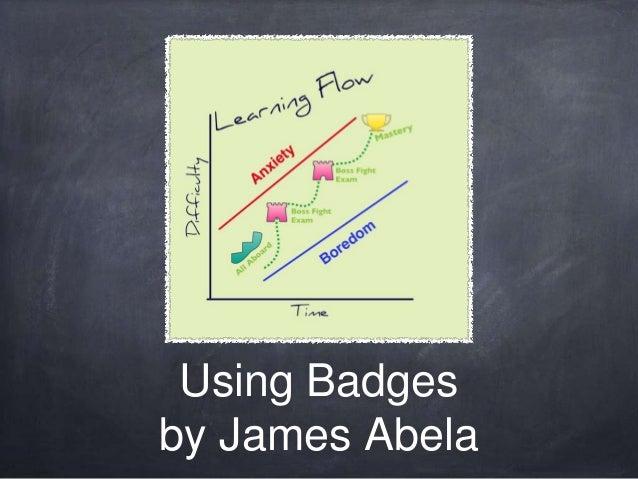 Using Badges by James Abela