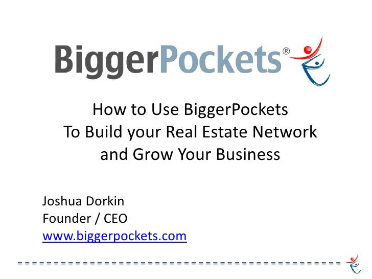 How to Use the BiggerPockets Social Network To Build your Real Estate Investing Business