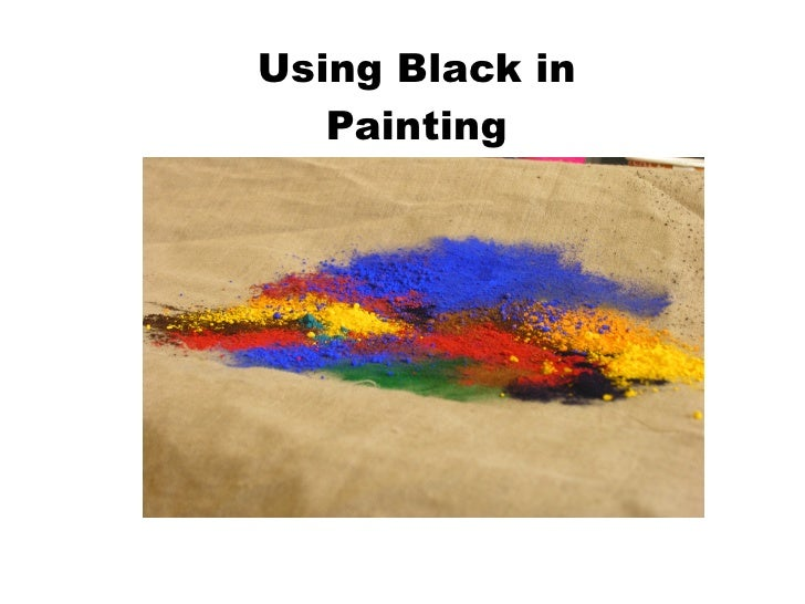 Using Black in Painting