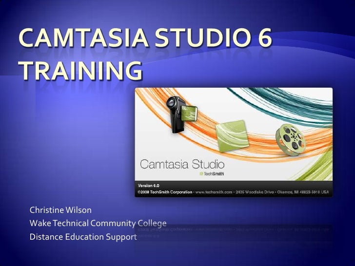Using Camtasia with Blackboard