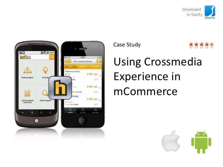 Using Crossmedia Experience in mCommerce