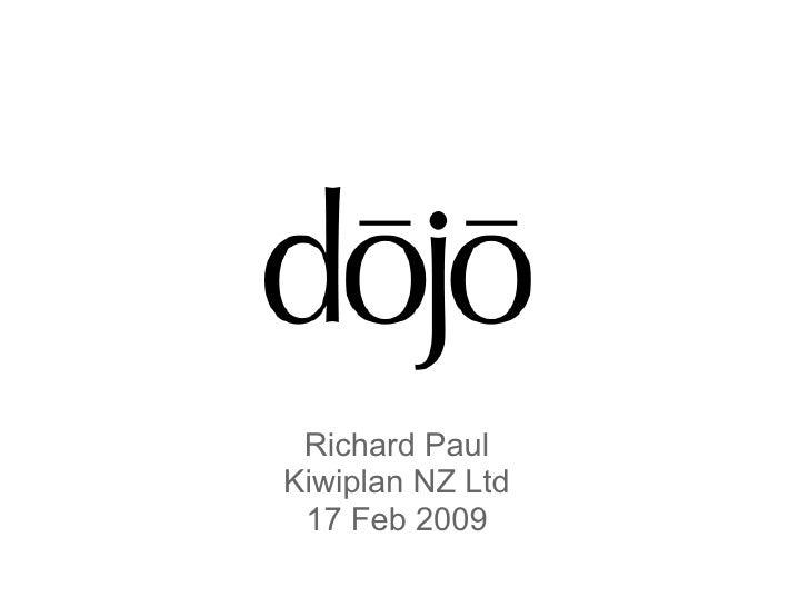 Using Dojo