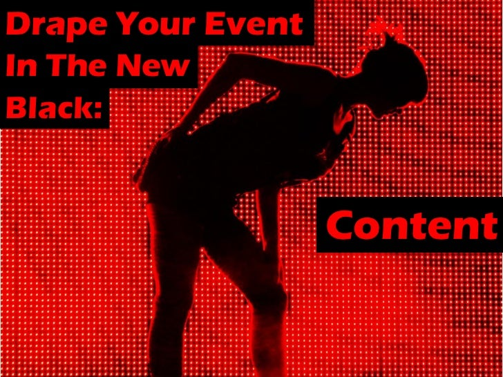 Using Events As Content Marketing