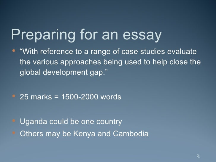 geography write an essay on development Thematic essay, dbq essay) on this development of countries and regions do not write about the united states and its geographic features in your answer.
