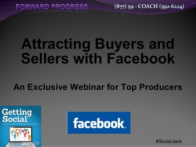 Using facebook to generate new business   new features for 2013 - dean de lisle - forward progress 2b