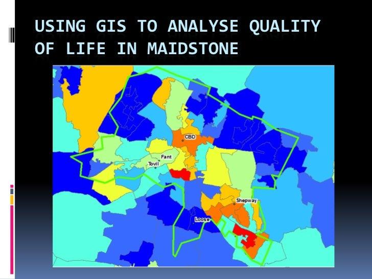 Using GIS data at GCSE