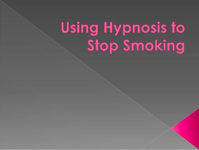 Using Hypnosis to Stop Smoking