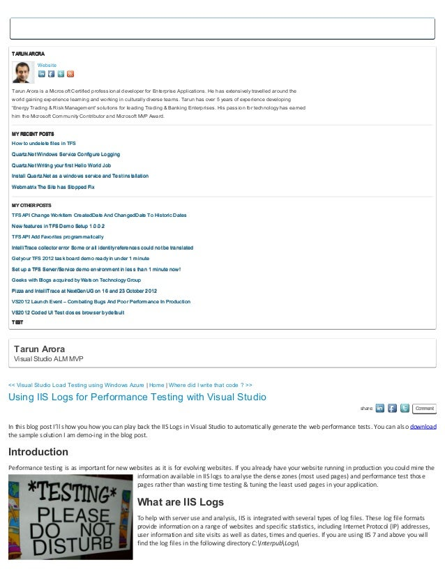 TARUN ARORA            Website Tarun Arora is a Microsoft Certified professional developer for Enterprise Applications. He...