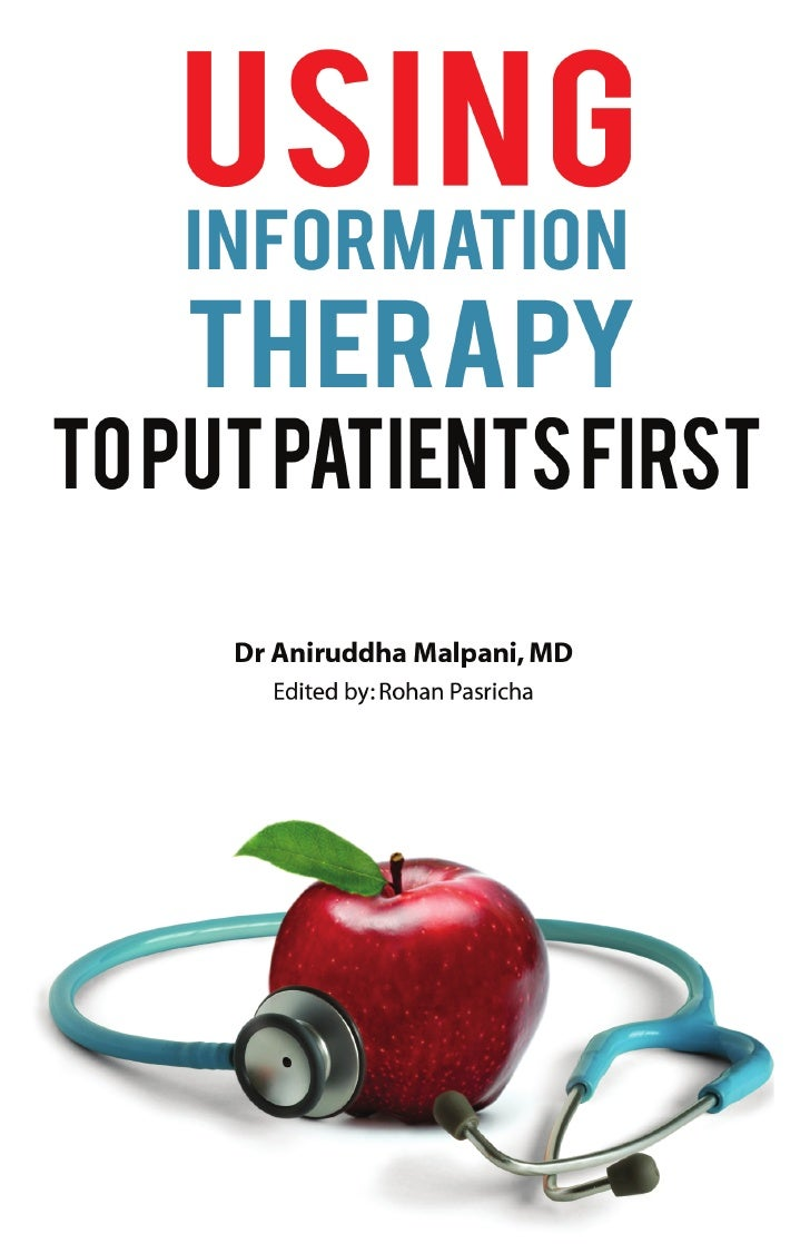 Using information therapy to put patients first