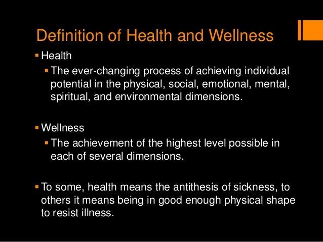 Integrative health and wellness assessment